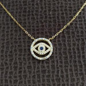 isabella m. Stationary Evil😈 Eye👁️ Necklace